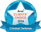 AVVO Clients Choice Award for Criminal Defense